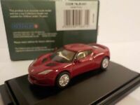 Model Car, Lotus Evora - Red, 1/76 New