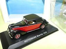 Norev Models 1/43 Scale Diecast 590006 - 1939 Biarritz - Black Red