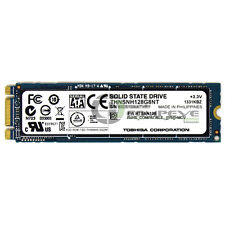 Toshiba THNSNH128G8NT M.2 NGFF 128GB SSD Solid State Drive SATA 6gb/s for Laptop