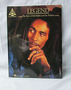 Hal Leonard ~  Bob Marley Legend : The Best of Bob Marley and the Wailers