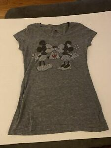 Disney Parks, Ladies Mickey and  Minnie Mouse T-Shirt, Size XS