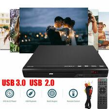 CD DVD Player HD Spieler Upscaling USB AV Anschluss mit Fernbedienung für TV