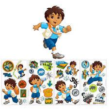 Go Diego Go 36 Wall Stickers Boys Kids Children Bedroom ClassRoom Decor Decals