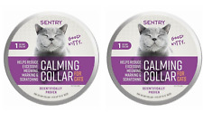 Sentry Behavior and Calming Collar For Cats, Two 30-Day Collar (2 Pack)