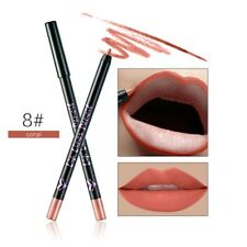 12-Color Waterproof Matte Lipstick Pencil Makeup Beauty Nude Lip Cosmetic