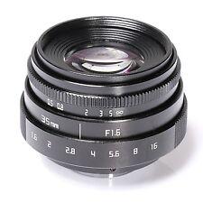 FUJIAN 35mm f1.6 C mount CCTV Lens II for N1 Fujifilm FX NEX Micro 4/3 EOS M ne