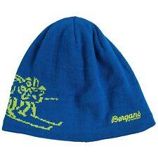 Bergans of Norway - 58 (L) - Athens Blue/Spring Leaves Birkebeiner Beanie Hat