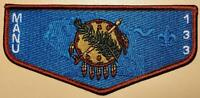 2019 Standard Membership Flap Ma-Nu Lodge 133 S-163 Last Frontier Council OA/BSA