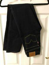 New Levis Dark Blue Jeans, 712 Slim, W26 x L30, RRP £85