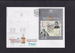 Portugal 2020 Florence Nightingale nurse medicine First Day Cover