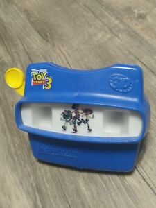 Vintage Fisher Price Disney Toy Story 3 View Master 3D Reel Viewer 1998 RARE