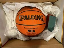 Spalding Nba Official Game Ball McDonald's Upper Deck Fantasy Winner Limited Ed