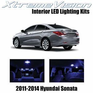 XtremeVision Interior LED for Hyundai Sonata 2011-2014 (8 PCS) Blue