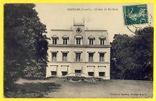 cpa Ecrite en 1910 DOURDAN (Essonne) CHÂTEAU du VAL BIRON Castle Schloss
