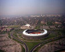 Aerial view of RFK Stadium US Capitol Washington Monument and DC Photo Print