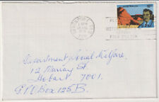 AUSTRALIA  1976: commercial cover with single 18c Explorer franking (2027)