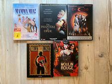 DVD-Paket Musicals Musikfilme 5 Filme
