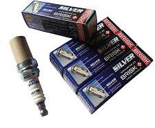 BRISK Silver Zündkerzen LPG CNG Autogas / 4 Stück für KIA 1462 DR15YS-9
