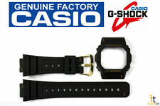 CASIO G-Shock DW-5600EG-9V Original Black BAND & BEZEL Combo