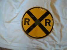 "12"" Metal Railroad Sign"