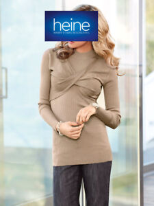 Two-in-One-Pullover B.C. Best Connections heine. Beige. NEU!!! KP 59,90 € %SALE%