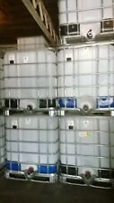 SCHUTZ 275 Gallon Food Grade IBC TOTE LIQUID STORAGE TANK BULK CONTAINER