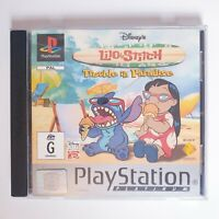 Lilo & Stitch Trouble In Paradise - Sony Playstation 1 PS1 - Free Postage