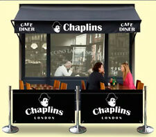CAFE BARRIER RESTAURANT BARRIERS PUB BARRIERS DESIGN AND PRINT INCLUED IN PRICE
