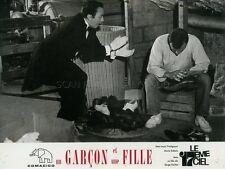 JEAN-LOUIS TRINTIGANT MARCEL DALIO UN GARCON ET UNE FILLE  1966 VINTAGE PHOTO #2