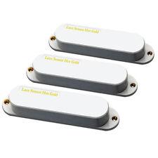 Lace Sensor Hot Gold 3-Pack Guitar Pickup Set - Matte White