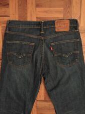Levi's, Para Hombre W32 L30, 511 Slim Fit, oscuro Wash Denim Jeans, * MBC *