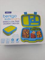 Bentgo Kids Lunch Box Bento Style Durable and Leak Proof School BPA Free, Citrus