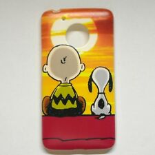 For Motorola Moto G5 Snoopy Phone Case Cover Free Screen Protector