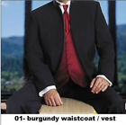 CUSTOM MADE men wedding suit black mandarin collar men jacket pants +waistcoat