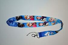 Disney Frozen Lanyard (Blue Background)