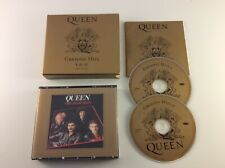 Queen Greatest Hits I & II 2 Disc CD Box Set w/ Booklet 1992 Hollywood Records