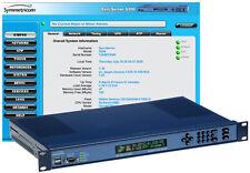 Symmetricom SyncServer S200 GPS NTP Server Network Time Receiver Atomic Clock