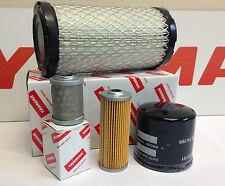 Yanmar Filter Kit B15-3,B18-3,SV15,SV17,VIO17