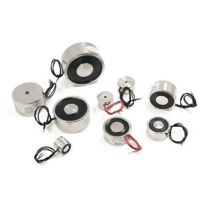 DC12V DC24V Lifting Holding Magnet Electromagnet Solenoid Electro Magnet