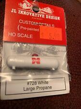 JL Innovative 728 HO Custom Large Propane Tank, White & Labeled Cenex