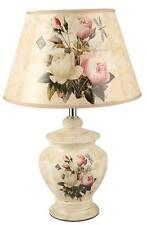Elegante Vintage  Keramik Tischlampe Nachttischlampe