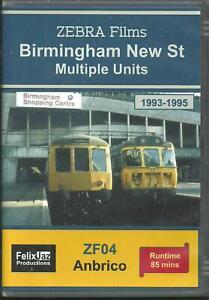 BIRMINGHAM NEW STREET MULTIPLE UNITS (1993-1995) - ANBRICO DVD