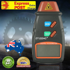 LCD Digital Laser Photo Tachometer Non Contact RPM Tach Speed Gauge Professional