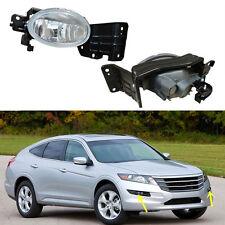 2010-2012 For Honda Crosstour Car Front Bumper Front Fog Light Lamps Assembly mo