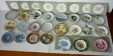 """23 X FRANKLIN MINT MINIATURE """"PLATES OF THE WORLDS GREATEST PORCELAIN"""""""