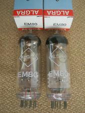 2x  6E1P / EM80  Röhren  UdSSR  -  Lagerbestand  -  NEU  ( NOS )  -  EM 80