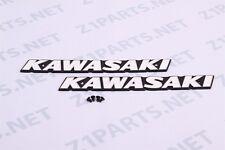 Kawasaki Z1 900, KZ900, KZ1000, KZ400 Gas Tank Emblems Set