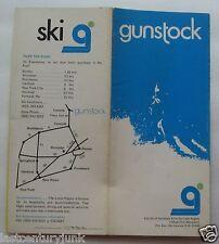 Ski Brochure For Gunstock, New Hampshire 70's