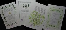 30 IRISH CELTIC INVITATIONS MANY DESIGNS CUSTOMIZED PERSONALIZED FOR YOU