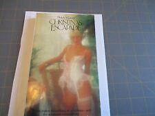 Christina's Escapade by Blakely St.James  (1986)  Arrow UK 80's Erotica Sleaze